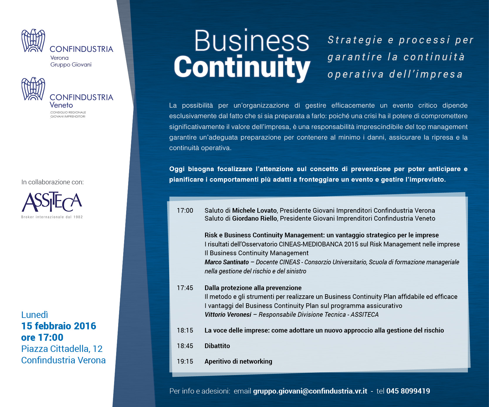 GI INVITO BUSINESS CONTINUITY