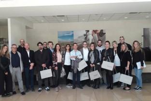 Visita In Azienda All'headquarter Falconeri Di Avio